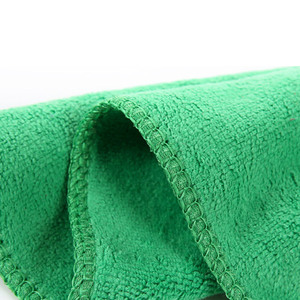 Image 4 - Onever 10pcs Microfiber Clean Auto Car Detail Soft Cloths Towels 25*25cm Home Kitchen Cleaning Tool Car Wash