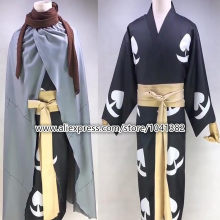 Anime Dororo Cosplay Hyakkimaru Costume Cloak Robe for Adult Men Women Halloween Carnival Cosplay Costumes Custom Made(China)