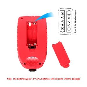 Image 5 - R&D GM998 red paint coating thickness gauge car paint electroplate metal coating thickness tester meter 0 1500um Fe & NFe probe