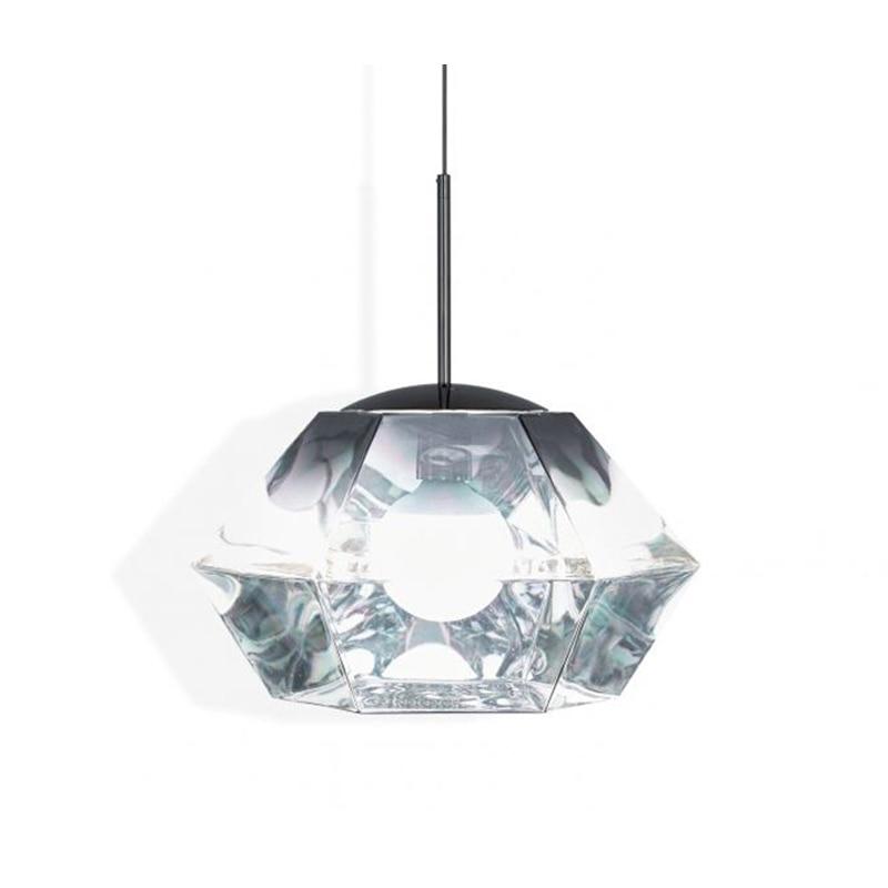 IKVVT Modern Electroplating Diamond Minimalist Pendant Lights For Living Room Bedroom Home Decor LED Bulbs Pendant Lights