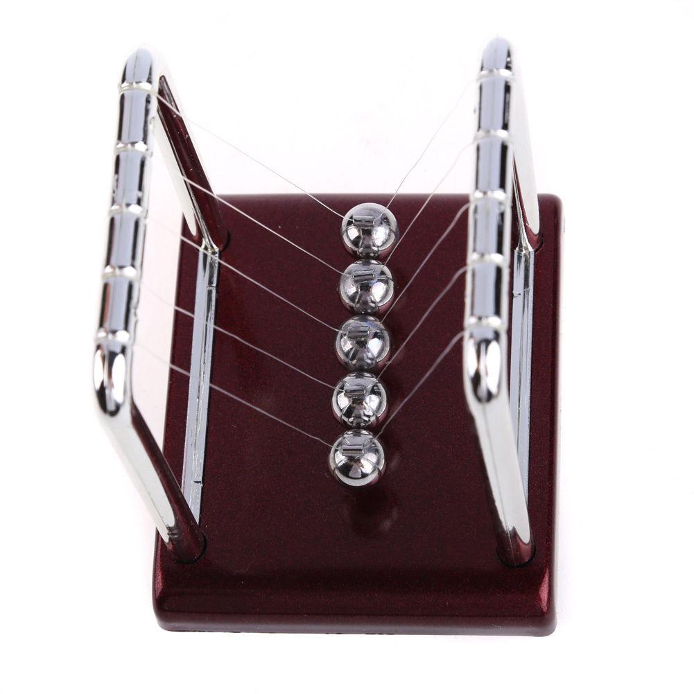 Newton's Cradle Steel Balance Ball Physics Science Pendulum Desk Fun Toy Gift Home Decoration Crafts