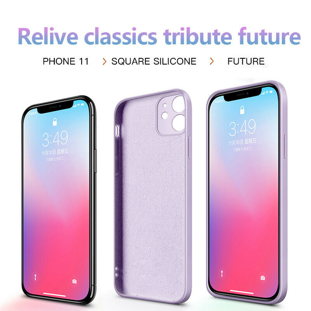Official Square Liquid Silicone Case For iPhone 11 12 Pro Max Mini Full Protector Case For iPhone XS MAX XR X 7 8 PLUS SE2 Cover 3
