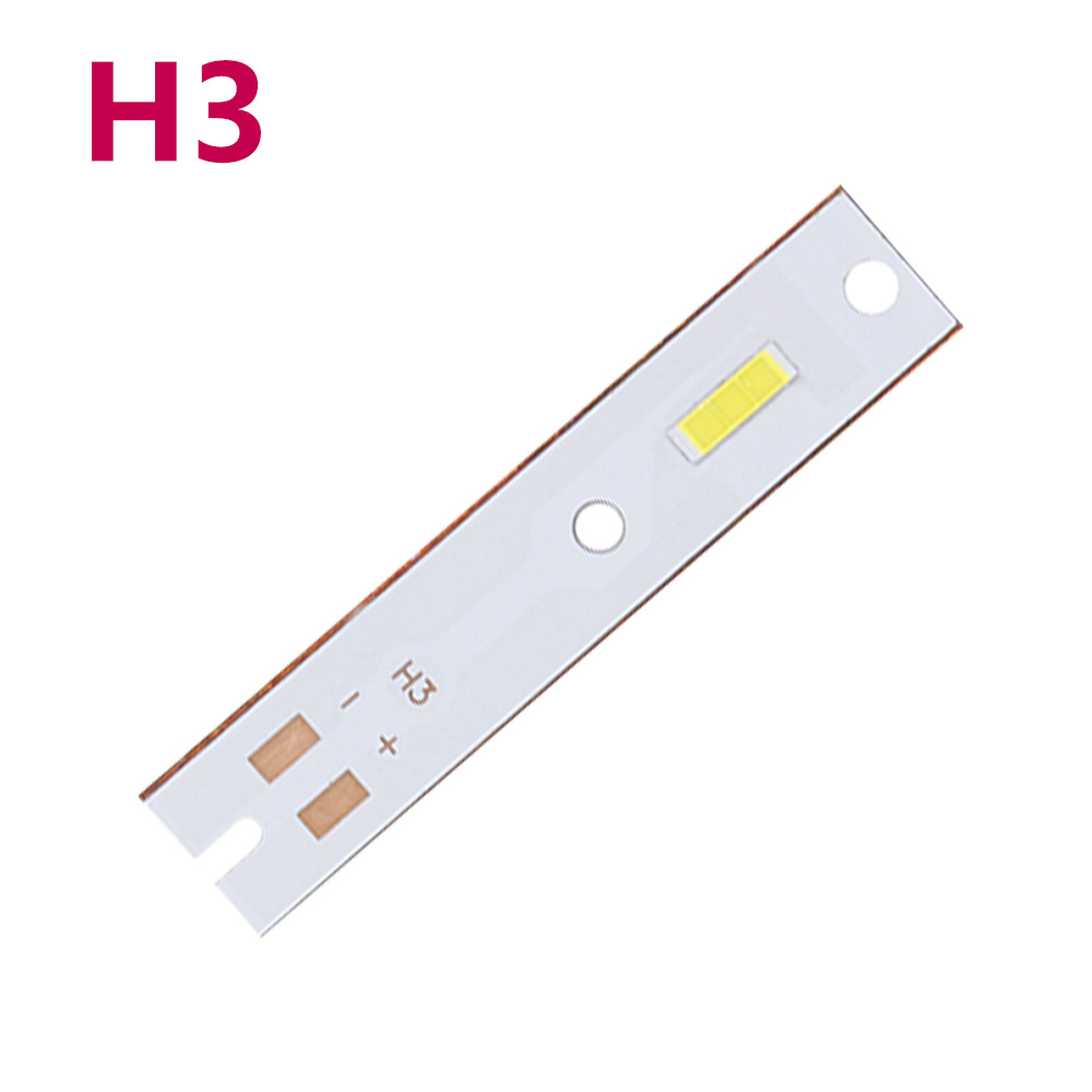LED Car Lights Bead CSP H1 H3 H4 H7 H11 H13 9005 9-<font><b>10V</b></font> Auto Bulb Headlamp 6500K White Lights Star Led Headlight Repair DIY PCB image