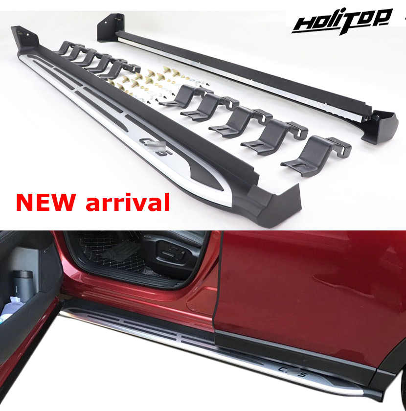 New arrival running board side bar side step nerf bar for Mazda CX-5 2017 2018 2019+, reliable quality,free shipping to Asia