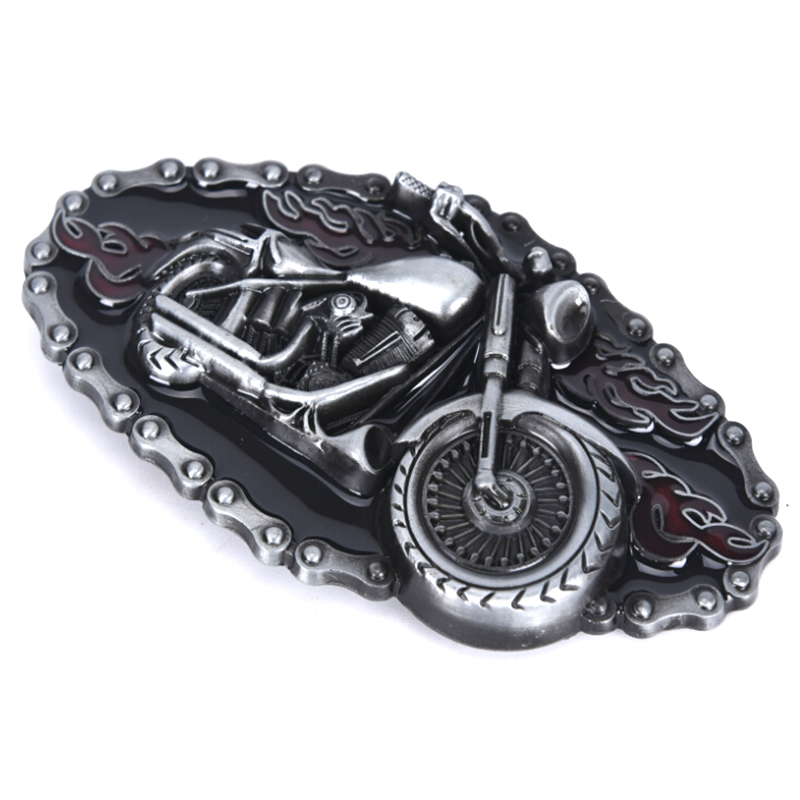 HOT Punk Motorcycle Modelling Cowboy Alloy Belt Buckle 1.5 Inch Width Cowboy And Cowgirl Metal Tool Western Buckles For Belts