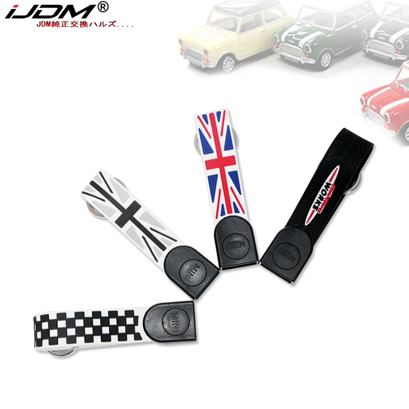 iJDM Key Chain Fob Ring Keychain for All Mini Cooper R50 R52 R53 R54 R56 R57 R58 R59 R60 R61 F54 F56 F60, etc image