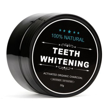 30g 100% Natural Teeth Whitening Whitener Activated Organic Charcoal Powder Polish Teeth Clean Strengthen Teeth Health Care New фото