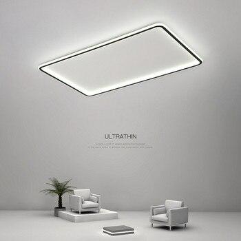 Nordic led living room ceiling lamp modern home ultra-thin study children's room lighting simple novelty bedroom ceiling light 1