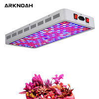 ARKNOAH 2000W LED Plant Grow Light UV IR 8 Bands Full Spectrum with VEG and BLOOM Switch for Grow Tent Plants Growth