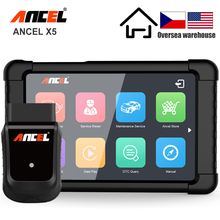 ANCEL X5 OBD2 Scanner WIFI Car Diagnostic Tool ABS SRS Oil EPB DPF Reset Full Systems OBD2 Multilingual Diagnostics Free Update