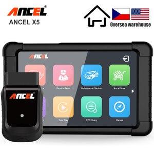 Image 1 - ANCEL X5 OBD2 Scanner WIFI Car Diagnostic Tool ABS SRS Oil EPB DPF Reset Full Systems OBD2 Multilingual Diagnostics Free Update