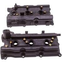 1 par de tampas da válvula do motor lh & rh para nissan 350z altima infiniti fx35 g35 m35|  -