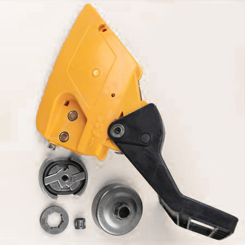 Replacement Brake Handle Kit Fits For PARTNER 350 351 Chainsaw Drum Needle Bearing Clutch Cover Garden Power Tools