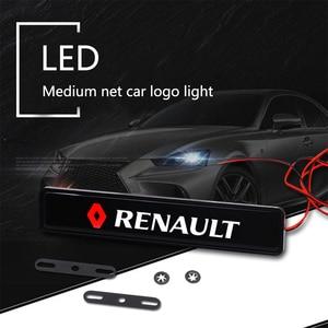 Car Front Grille LED Badge Lig