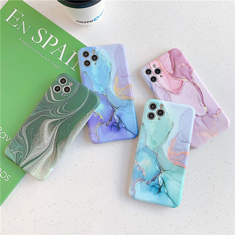 Marble Phone Case For iPhone 11 Pro Max Cellphones & Telecommunications iPhone Cases/Covers Mobile Phone Accessories Phone Covers