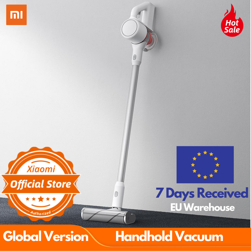 Global Version Xiaomi Wireless Handheld Vacuum Cleaner Powerful 9-cyclone 99.9% Antil- Acarid 100 AW Suction 30m Suction
