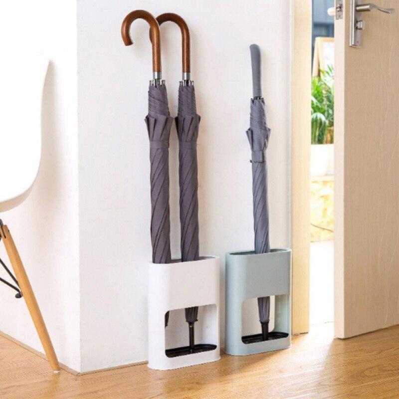 Organizador del soporte del estante del estante del almacenamiento del paraguas con el accesorio de la entrada de Home Office 4 agujeros 02