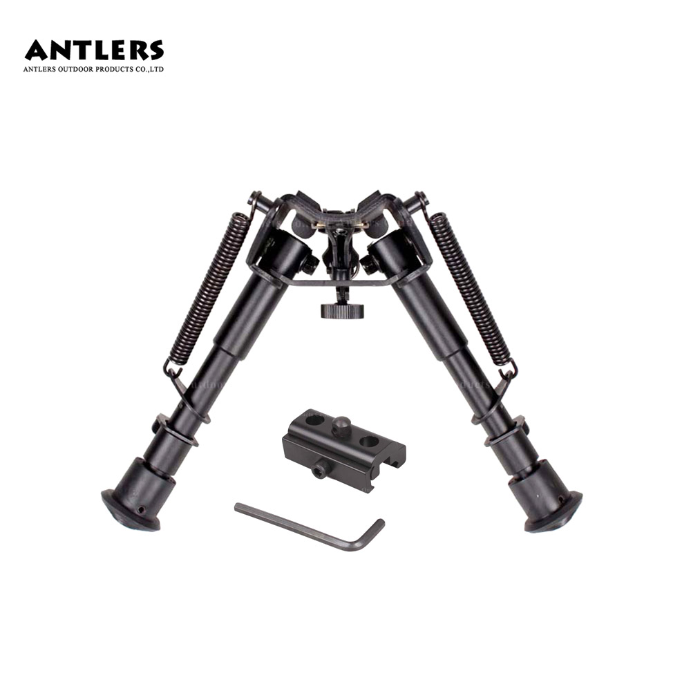 6-9 Inch Telescopic Hunting Airsoft Bracket Support Frame Include 20mm Adapter Bipod Tripod Refitting Accessories Blaster