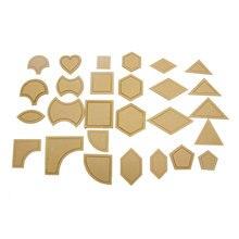 54 шт. акриловые шаблоны для шитья, трафареты для шитья, линейка для лоскутного шитья, набор инструментов