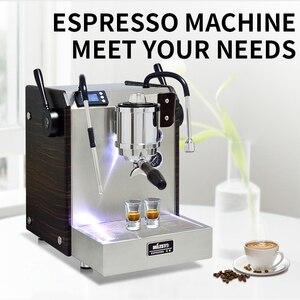 EM-30 домашний эспрессо полуавтоматическая кофемашина 9 бар двойной котел роторный насос коммерческий трехступенчатый PID контроль