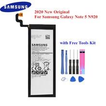 2020 جديد البطارية الأصلية لسامسونج غالاكسي ملاحظة 5 SM N920 N920F N920T N920A N920I N920G N9200 EB BN920ABE أفضل جودة Akku
