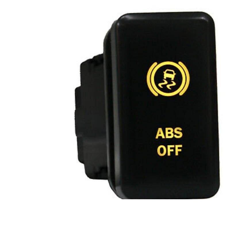 Кнопочный переключатель Toyotaa 12 в, переключатель с символом выключения ABS для 5-го поколения 4runner 2010 +