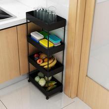 Кухонная полка, многоэтажная тележка, бытовой шкив, подвижная овощная корзина, полка, корзина для овощей и фруктов