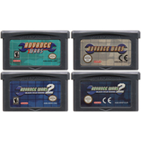 32 Bit Video Game Cartridge Console Card For Nintendo GBA Advance Wars