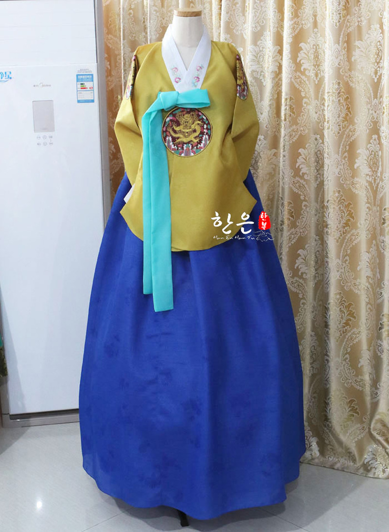 Korea Imported Fabrics / Tang Clothes Hanbok / New Hanbok / Stage Hanbok