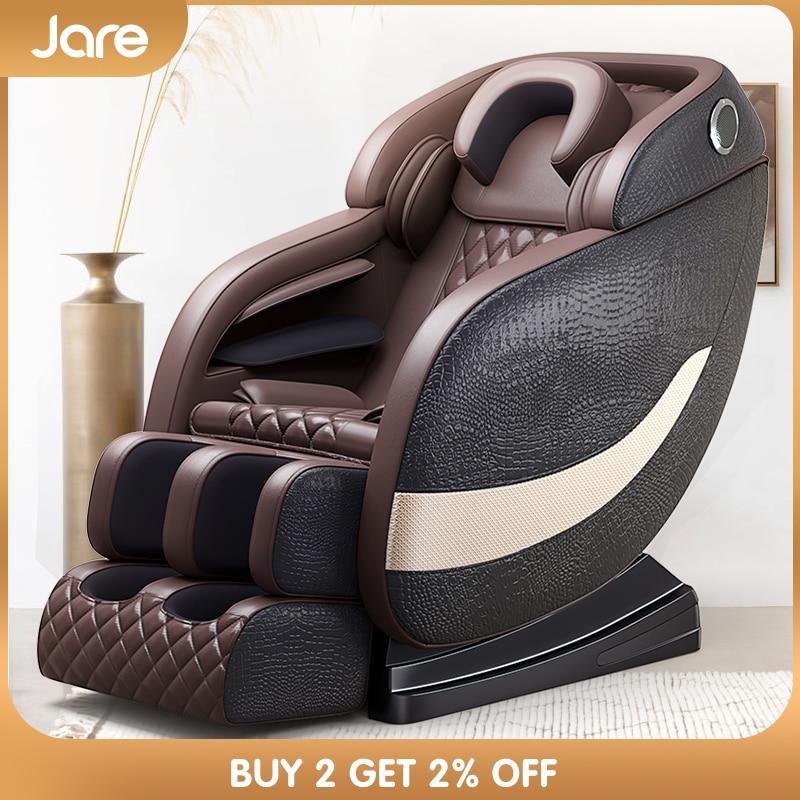 Jare A7 Wholesale Factory Price Luxury 4D Zero Gravity Shiatsu Roller Electric Kneading Back Vibration Full Body Massage Chair