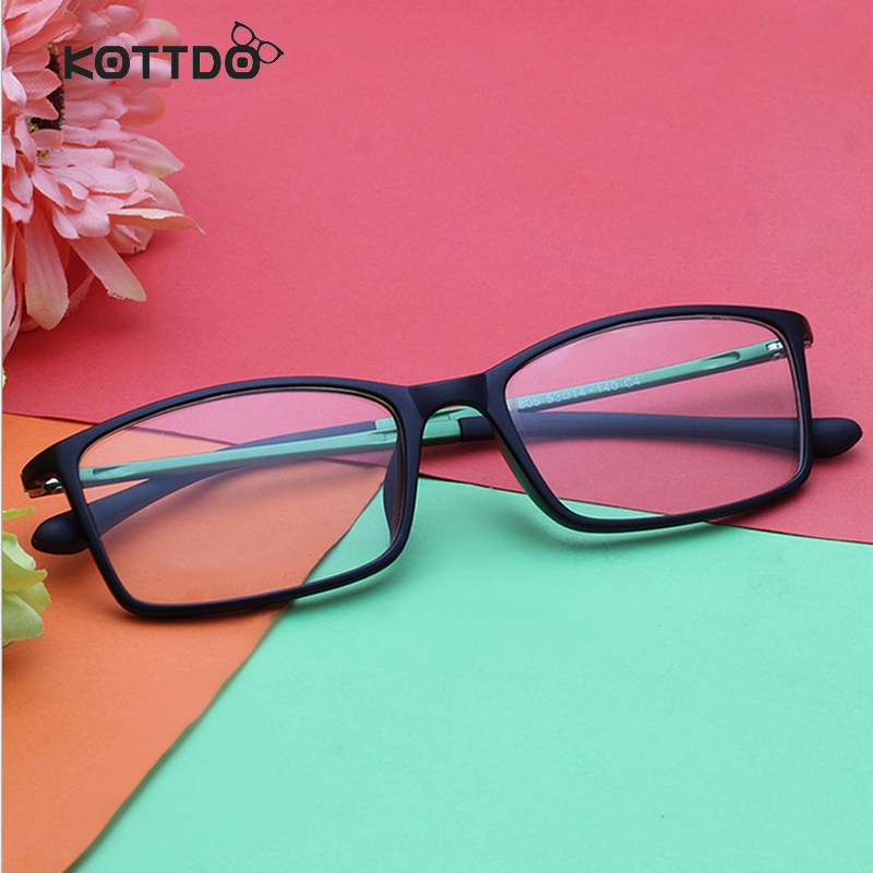 KOTTDO 2018 Lightness Brand Design Women Eye Glasses Frames Men Spectacle Optical Frame EyeGlass Eyeglasses