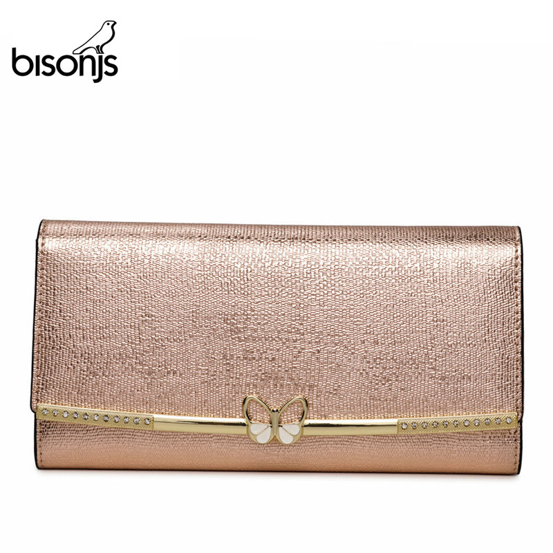 BISONJS Genuine Leather Purse…