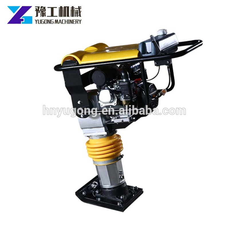 2020 Popular Electric Gasoline Impact Tamping High Frequency Vibratory Tamper Rammer Construction Machine CE Certification