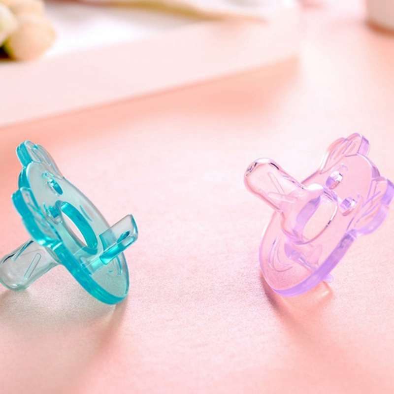 Newborn Infant Feeding Orthodontic Dummy Soother Pacifiers 0-6 Months Orthodontic Baby Flexible Pacifier Nipple Silicone
