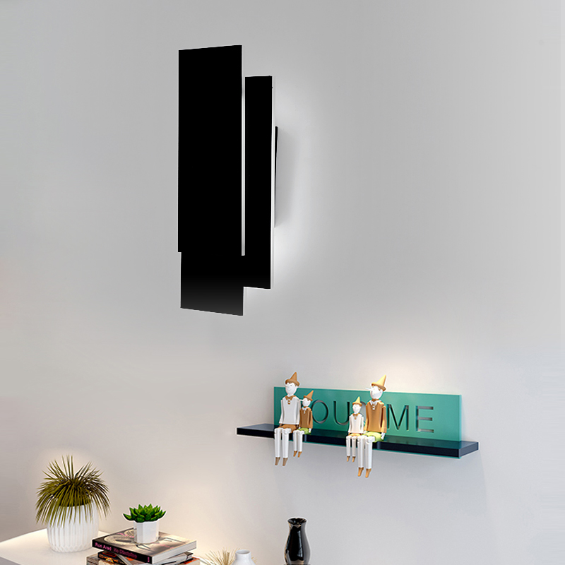 H59bd3244374c418f998c5e476954f6cbl - 12W LED Wall Sconces Lighting Interior Wall Lamp Contemporary Mounted Lamp With Aluminum Shell for Indoor Bedroom Hot Light