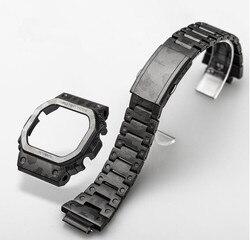 Черный Камуфляжный набор часов, ремешок из титанового сплава 5035 5600 5610
