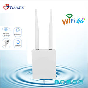 TIANJIE High Speed Outdoor 4G LTE Wireless AP Waterproof Unlock Sim Card Wifi Router