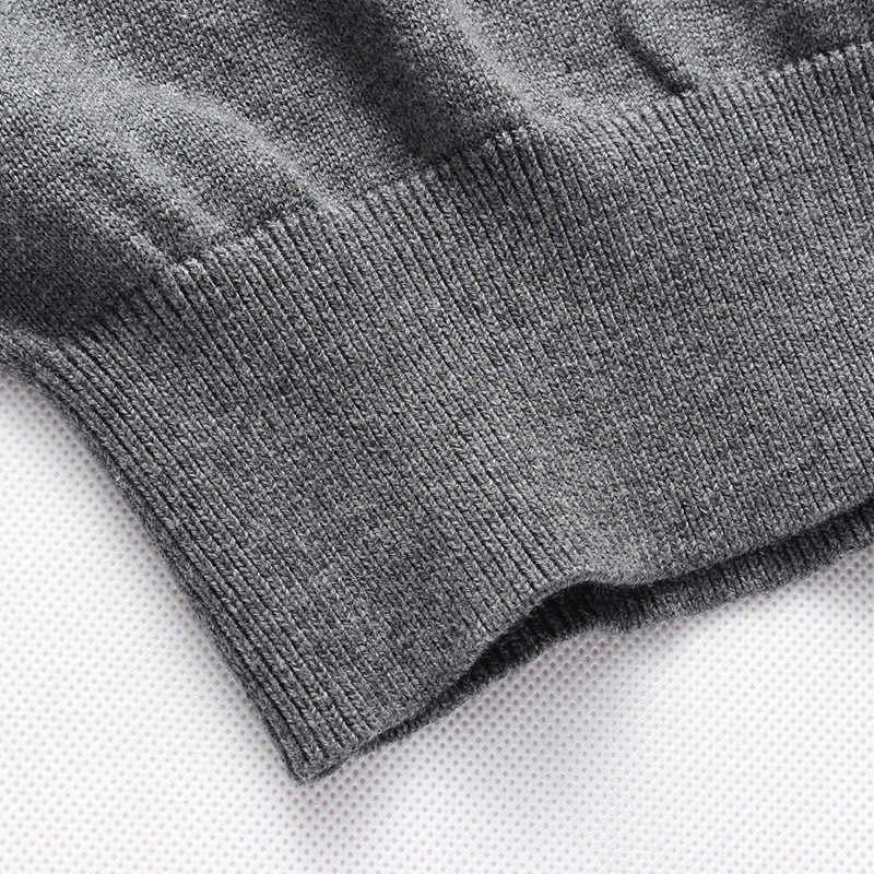 2019 Hoge Kwaliteit mannen Trui Patchwork O-hals Kleding Heren Truien en Pullovers Winter Slim Fit Gebreide Pull Homme 1461