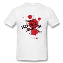 off white Dad By Day Zombie Slayer Night t shirt men Casual Fashion Mens Basic Short Sleeve T-Shirt boy girl hip hop t-shirt top tees