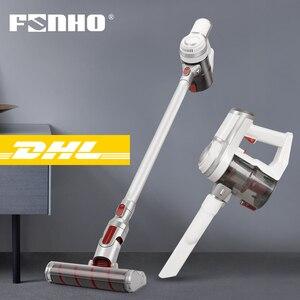 Image 1 - FUNHO aspirateur à main sans fil 150W, haute puissance, appareil de nettoyage en profondeur, collecteur de poussière multifonction, pour la maison