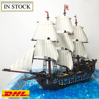 Imperial Flagship Pirate of Caribbean building blocks 10210 hobby collection gifts