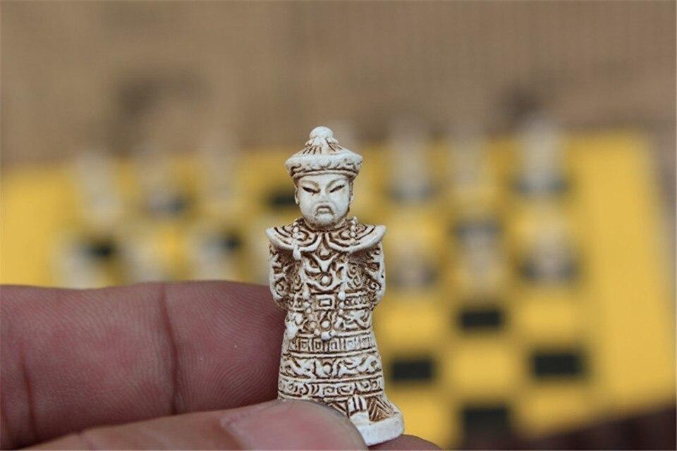 de couro qing bing peças de xadrez