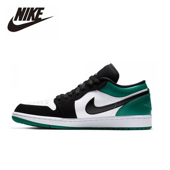 Nike Air Jordan 1 Low Basketball Shoes Men's Basketball Sneakers Unisex Women Breathable Outdoor 553558-113