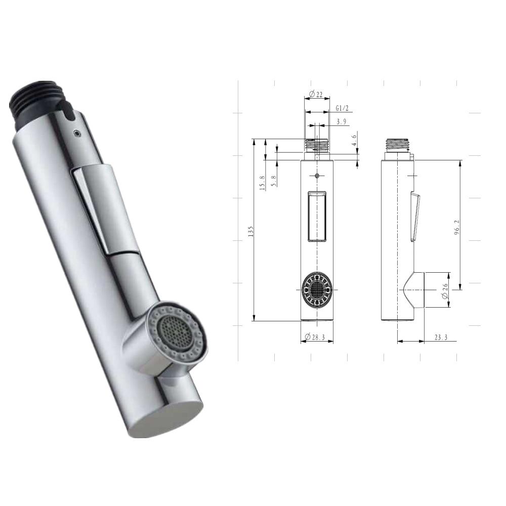 Адаптер для кухонного крана из АБС пластика выдвижные детали
