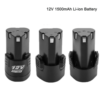 New 12V Universal Rechargeable Lithium Battery For Power Tools Electric Screwdriver Electric drill Li-ion Battery