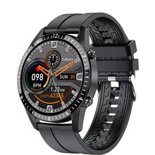 LIGE smartwatch z funkcją telefonu w pełni dotykowy ekran sportowy zegarek do Fitness IP67 wodoodporne połączenie Bluetooth dla androida ios smartwatch Men tanie tanio HAIMAITONG CN (pochodzenie) Dla systemu iOS Na nadgarstek Zgodna ze wszystkimi 128MB Krokomierz Rejestrator snu Wiadomości z przypomnieniami
