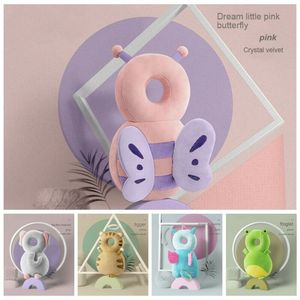 1-3T Toddler Baby Head Protector Safety Pad Cushion Back Prevent Injured Unicorn Bee Cartoon Security Pillows(China)