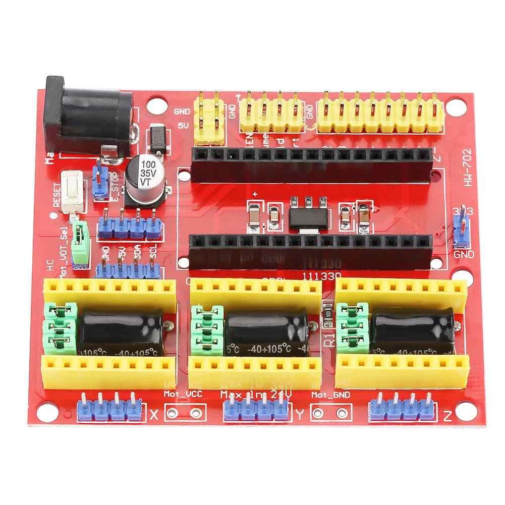 NC シールド V4 彫刻 3D プリンタ拡張ボード A4988 Arduino のプロ Cnc プリンタシールド 7.5-1V