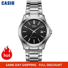 Casio часы мужские наручные часы мужские лучший бренд класса люкс кварцевые часы водонепроницаемые часы мужские часы спортивные военные часы relogio masculino reloj hombre erkek kol saati montre zegarek meski MTP 1183