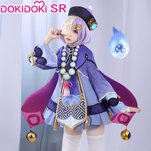 PRE-SALE dokidoki-sr jogo genshin impacto cosplay qiqi traje qiqi cosplay genshin impacto traje
